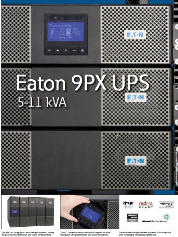 伊顿UPS 9PX系列(5~11KVA)新品上市